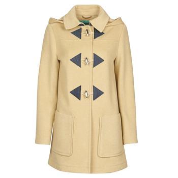 Oblačila Ženske Plašči Benetton 2BZP53655 Bež