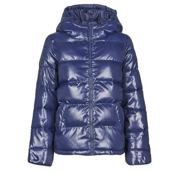 Oblačila Ženske Puhovke Benetton 2EO0536G3 Modra