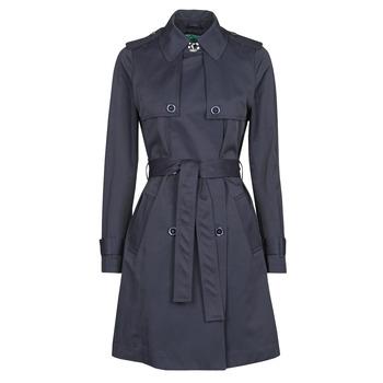 Oblačila Ženske Trenči Benetton 2BIM5K2S3 Modra