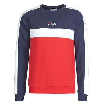 Oblačila Moški Puloverji Fila CREW SWEATER Modra / Bela / Rdeča
