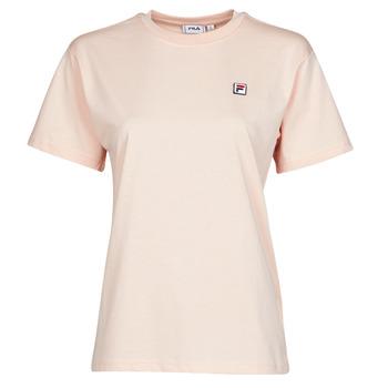 Oblačila Ženske Majice s kratkimi rokavi Fila 682319 Rožnata