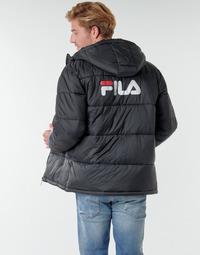 Oblačila Moški Puhovke Fila SCOOTER PUFFER JACKET Črna