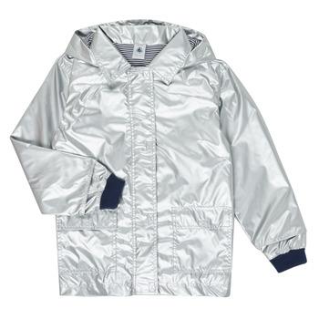 Oblačila Deklice Parke Petit Bateau LAETICIA Srebrna