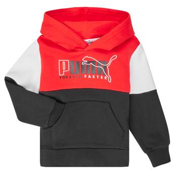 Oblačila Dečki Puloverji Puma ALPHA HOODY Večbarvna