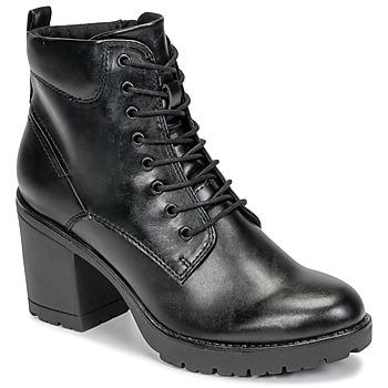 Čevlji  Ženske Gležnjarji Marco Tozzi 2-25204-35-002 Črna