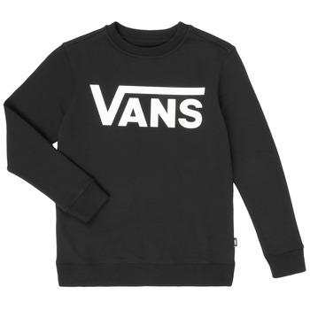 Oblačila Dečki Puloverji Vans VANS CLASSIC CREW Črna