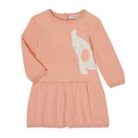 Oblačila Deklice Kratke obleke Noukie's Z050082 Rožnata