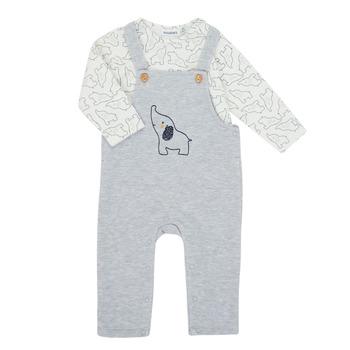 Oblačila Dečki Otroški kompleti Noukie's Z050372 Siva