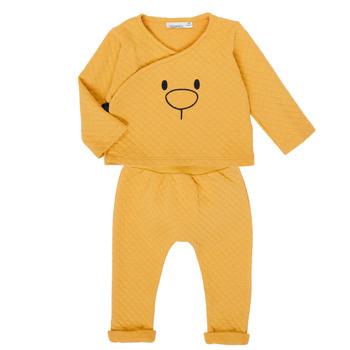 Oblačila Deklice Otroški kompleti Noukie's Z050377 Rumena