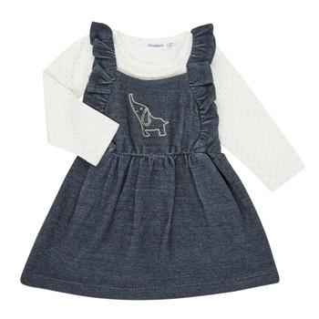 Oblačila Deklice Otroški kompleti Noukie's Z050379 Modra