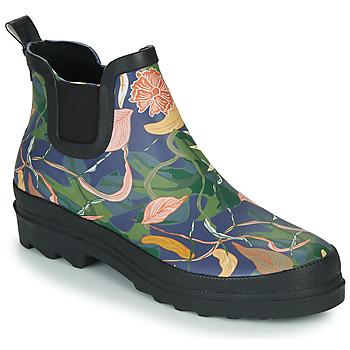 Čevlji  Ženske škornji za dež  Sanita FELICIA WELLY Modra