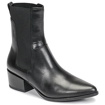 Čevlji  Ženske Gležnjarji Vagabond MARJA Črna