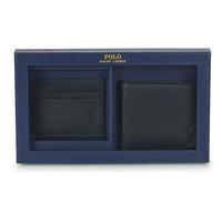 Torbice Moški Denarnice Polo Ralph Lauren Billfold & CardCase Gift Set Črna