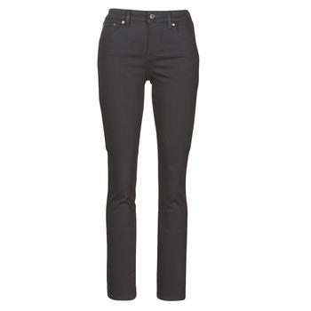 Oblačila Ženske Jeans straight Lauren Ralph Lauren PRM STRAIGHT Črna