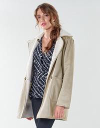 Oblačila Ženske Plašči Lauren Ralph Lauren RVRSBL FXSH-COAT Kamel
