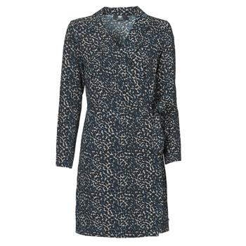 Oblačila Ženske Kratke obleke Le Temps des Cerises LEANE Modra