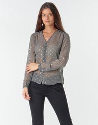 Oblačila Ženske Topi & Bluze Le Temps des Cerises OTTA Siva