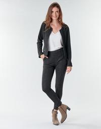 Oblačila Ženske Hlače s 5 žepi Le Temps des Cerises BIEBER Črna