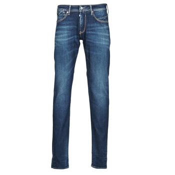 Oblačila Moški Jeans straight Le Temps des Cerises 812 BASIC Modra