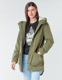 Oblačila Ženske Parke Volcom WALK ON BY 5K PARKA Zelena