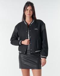 Oblačila Ženske Jakne Volcom TINYTED BOMBER Črna