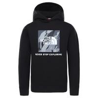 Oblačila Dečki Puloverji The North Face NEW BOX CREW HODDIE Črna