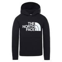 Oblačila Otroci Puloverji The North Face DREW PEAK HOODIE Črna