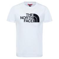 Oblačila Dečki Majice s kratkimi rokavi The North Face EASY TEE Bela