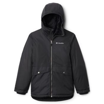 Oblačila Deklice Parke Columbia PORTEAU COVE MID JACKET Črna