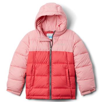 Oblačila Deklice Puhovke Columbia PIKE LAKE JACKET Rožnata