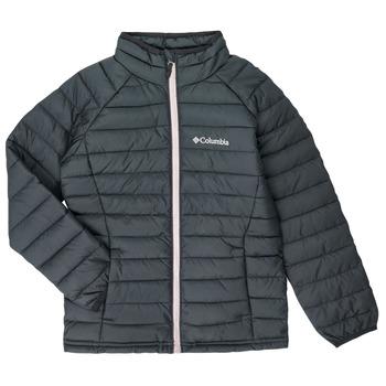 Oblačila Deklice Puhovke Columbia POWDER LITE JACKET Črna