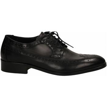 Čevlji  Moški Čevlji Derby Edward's LATINO SACCHETTO BAROLO nero