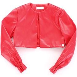 Oblačila Deklice Usnjene jakne & Sintetične jakne Byblos Blu BJ14994 Rosso