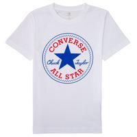 Oblačila Dečki Majice s kratkimi rokavi Converse 966500 Bela