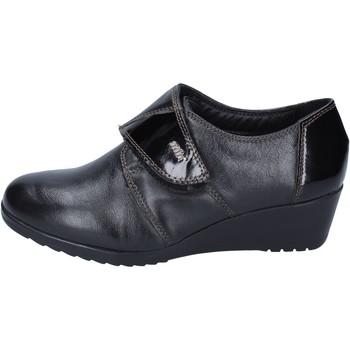 Čevlji  Ženske Mokasini Adriana Del Nista BM231 Črna