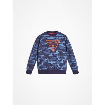 Oblačila Dečki Puloverji Guess L0YQ01-K82T0-PC74 Modra