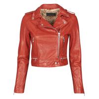 Oblačila Ženske Usnjene jakne & Sintetične jakne Oakwood KYOTO Rdeča