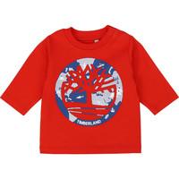 Oblačila Dečki Majice z dolgimi rokavi Timberland T95889 Rdeča