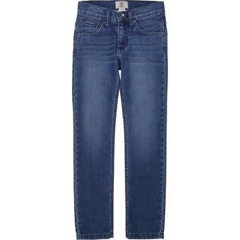 Oblačila Dečki Kavbojke slim Timberland T24B15 Modra