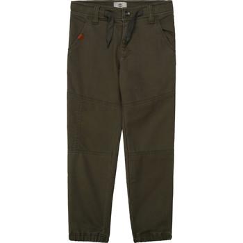 Oblačila Dečki Hlače s 5 žepi Timberland T24B11 Kaki