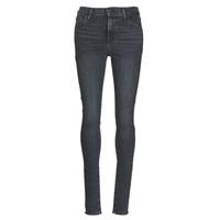 Oblačila Ženske Jeans skinny Levi's 720 HIGH RISE SUPER SKINNY Smoked / Out