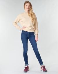 Oblačila Ženske Jeans skinny Levi's 721 HIGH RISE SKINNY Modra