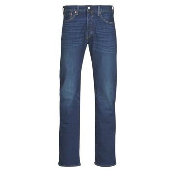 Oblačila Moški Jeans straight Levi's 501 Levi's ORIGINAL FIT Modra