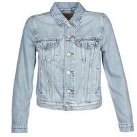 Oblačila Ženske Jeans jakne Levi's ORIGINAL TRUCKER Modra