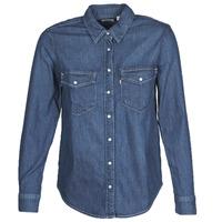 Oblačila Ženske Srajce & Bluze Levi's ESSENTIAL WESTERN Modra