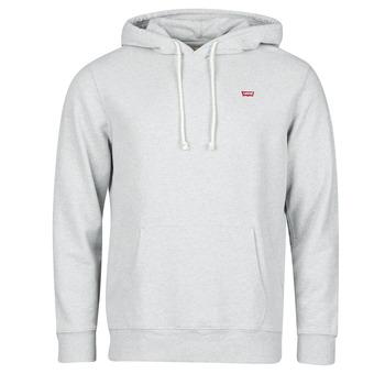 Oblačila Moški Puloverji Levi's NEW ORIGINAL HOODIE Eco / Siva