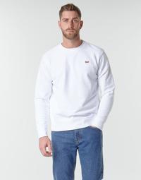 Oblačila Moški Puloverji Levi's NEW ORIGINAL CREW White