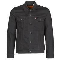Oblačila Moški Jeans jakne Levi's THE TRUCKER JACKET Črna