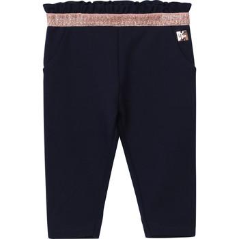 Oblačila Deklice Hlače s 5 žepi Carrément Beau Y94194 Modra