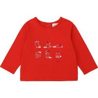Oblačila Deklice Majice z dolgimi rokavi Carrément Beau Y95252 Rdeča